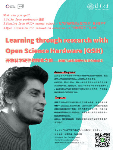 Learning through research with Open Science Hardware