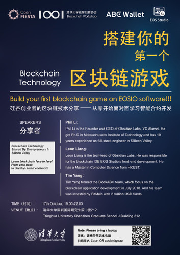 Build your first blockchain game on EOSIO software